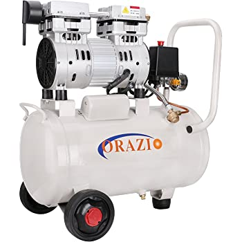 241184 Low Noise Silent Air Compressor 65DB 220V 1100W 24L For Garage Clinic