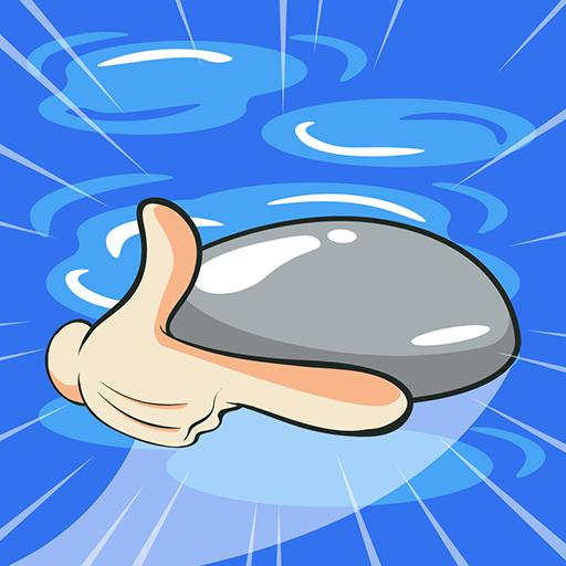 Stone Skip Arcade - Kids Games For Free Casual-skimmer