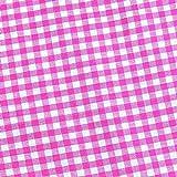 0,5m Vichy-Karo groß 5mm Stoff pink/ weiß Meterware 100%