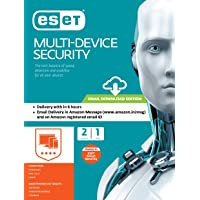 ESET Multi-Device Security - 2 Devices, 1 Year (Email Delivery in 2 Hours- No CD)