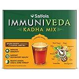 Saffola Arogyam Immuniveda Kadha Mix- 80G (20 Sachets X 4G)   Ayurvedic Immunity Booster Herbal Tea With Ayush Kwath