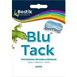 Bostik 30803836 Blu-Tack  - Pegatina original reutilizable, Blanco, 1 unidad