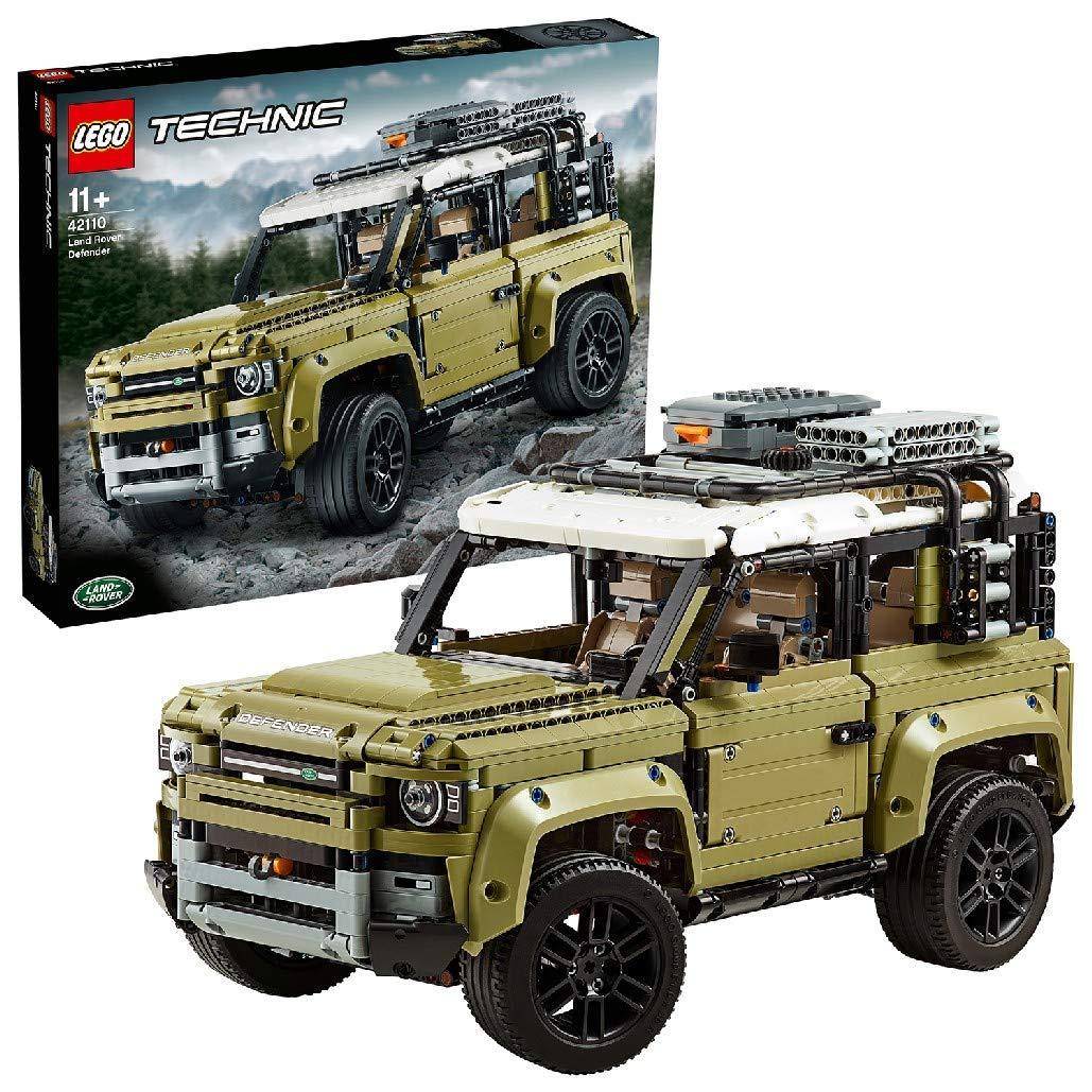 LEGO Technic 42110 – Land Rover Defender, 2.573 Teile, Bauspielzeug