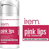 Irem Pink Lips - Lip cream Repair restore and brighten lips. With Vitamin C, Hyaluronic and Licorice 15g