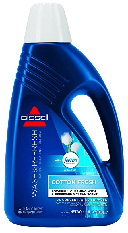 bissell wash and refresh cotton fresh carpet shampoo 15 l 1079e