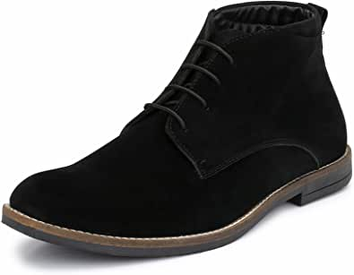HiREL'S Men's Everyday Suede Casual Lace Up Chukka Boots