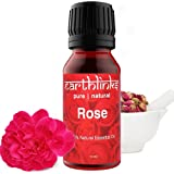 Earthlinks Rose Essential Oil. Use Organic Rose Oil for Face, Skin, With Hair Oil, and as Diffuser Oil for Home Fragrance. Or
