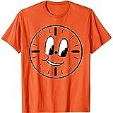 Marvel Loki Miss Minutes Clock Orange T-Shirt