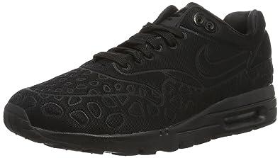 cheap for discount d6201 efc66 Nike w Air Max 1 Ultra Plush, Scarpe da Corsa Donna, Nero   Nero