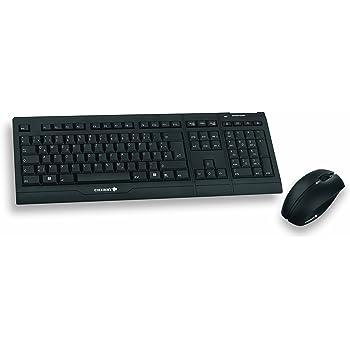 Cherry M85-26005DE-2 B Unlimited Home - Rechargeable Wireless Desktop USB,  Tastatur und Maus, schwarz