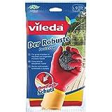 Vileda 683 Der Robuste Gummihandschuhe - Ideal für alle groben Arbeiten im Haushalt, die erhöhten Schutz erfordern - Größe L (Groß) - 1 Paar