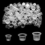 ATOMUS 300Pcs Tattoo Ink Cups Mixed Small Medium Large Size Disposable Ink Cups Tattoo Pigment Caps Holder Container Tattoo S