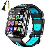 Kinderen Smartwatch Telefoon 4G GPS Wifi Bluetooth Smart Watch Voor Jongens Meisjes Met Touchscreen Sos HD Voice Videochat, D