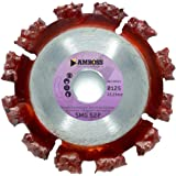 "Amboss - Diamant-Trennscheibe""SMG 52P"" - Ø 125 mm x 22,2 mm - Wurzeln/Baumstämme/Holz mit Rückständen/Dachbahnen/Hartgummi/Asphalt | Segmentverbindung: galvanisch"