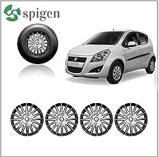 SPIGEN AUTO 14 inch Premium Wheel Cover for Maruti Suzuki Ritz Colour: Silver