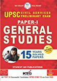 UPSC General Studies Prelim Exam 15 years Solved Papers