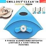 ChillOut Clean'in lave vitre magnetique double vitrage raclette vitre aimanté double vitrage puissance magnétique ajustable