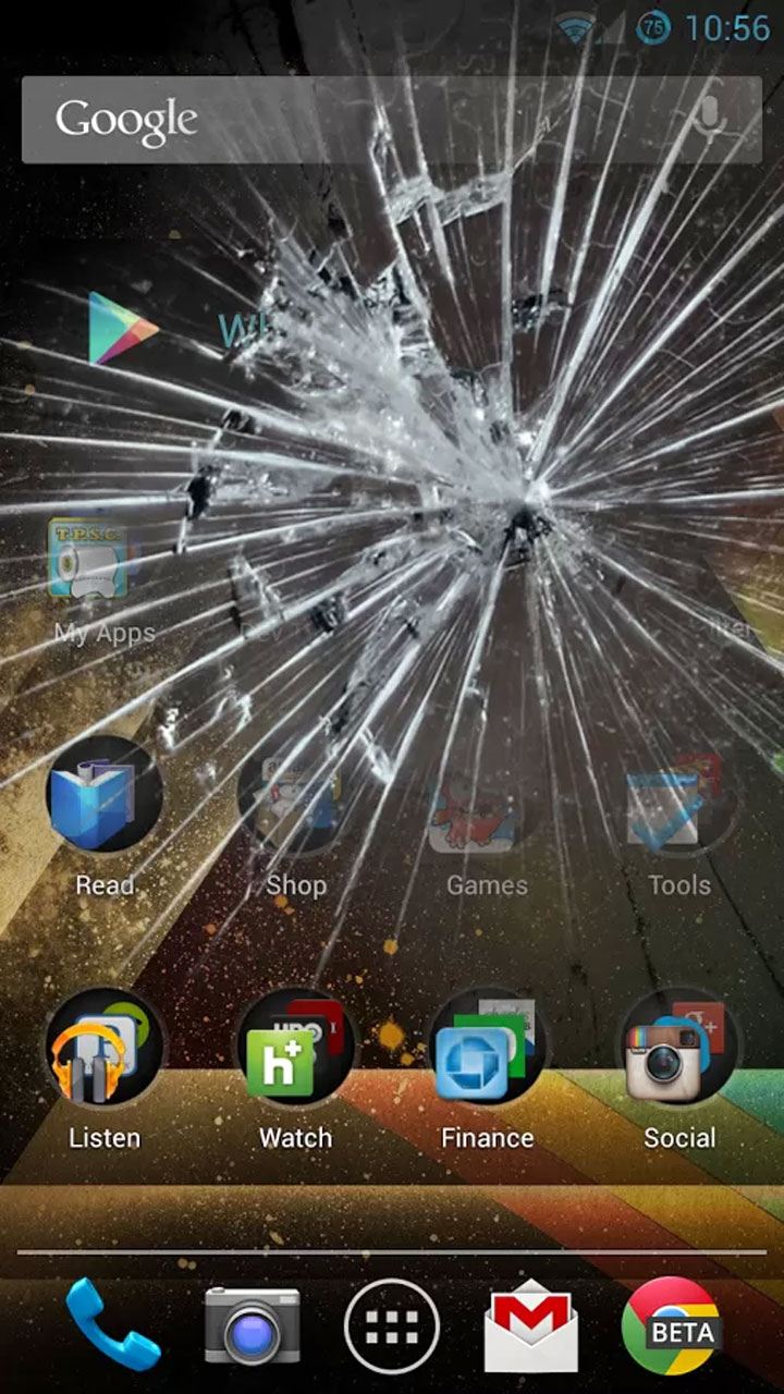 Best Broken Screen Prank App Amazon Co Uk Appstore For Android