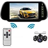 Bus/LKW/Bagger 17,8cm TFT LCD Wireless Backup Kamera Rückfahrkamera Monitor Wasserdicht Rückfahrkamera IR-Nacht-VisionR