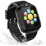 GPS Reloj Inteligente Niña Impermeable - Smartwatch Niños Localizador GPS Niños, Pulsera Inteligente Reloj Inteligente Niña R