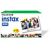 Fujifilm Instax Wide Picture Format Film - Value Pack 100 Shots Films (White)
