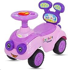 BayBee MantizMoo Push Car (Violet)