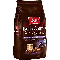 Melitta Ganze Kaffeebohnen, 100% Arabica, kräftig mit Noten dunkler Schokolade, Stärke 3, BellaCrema Selection des…