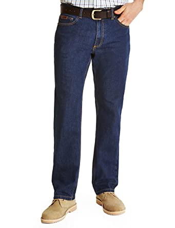 Farah Classic Denim Stretch Straight Mens Jeans: Amazon.co.uk ...