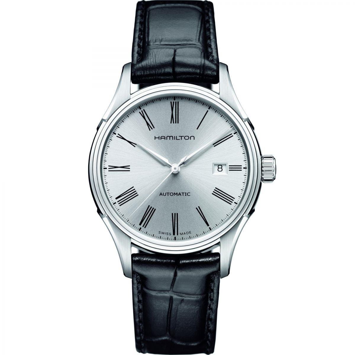 Hamilton Men's Analogue Automatic Watch with Leather Strap H39515754
