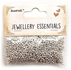 Itsy Bitsy Glass Seed Beads, 2mm, Pack of 2