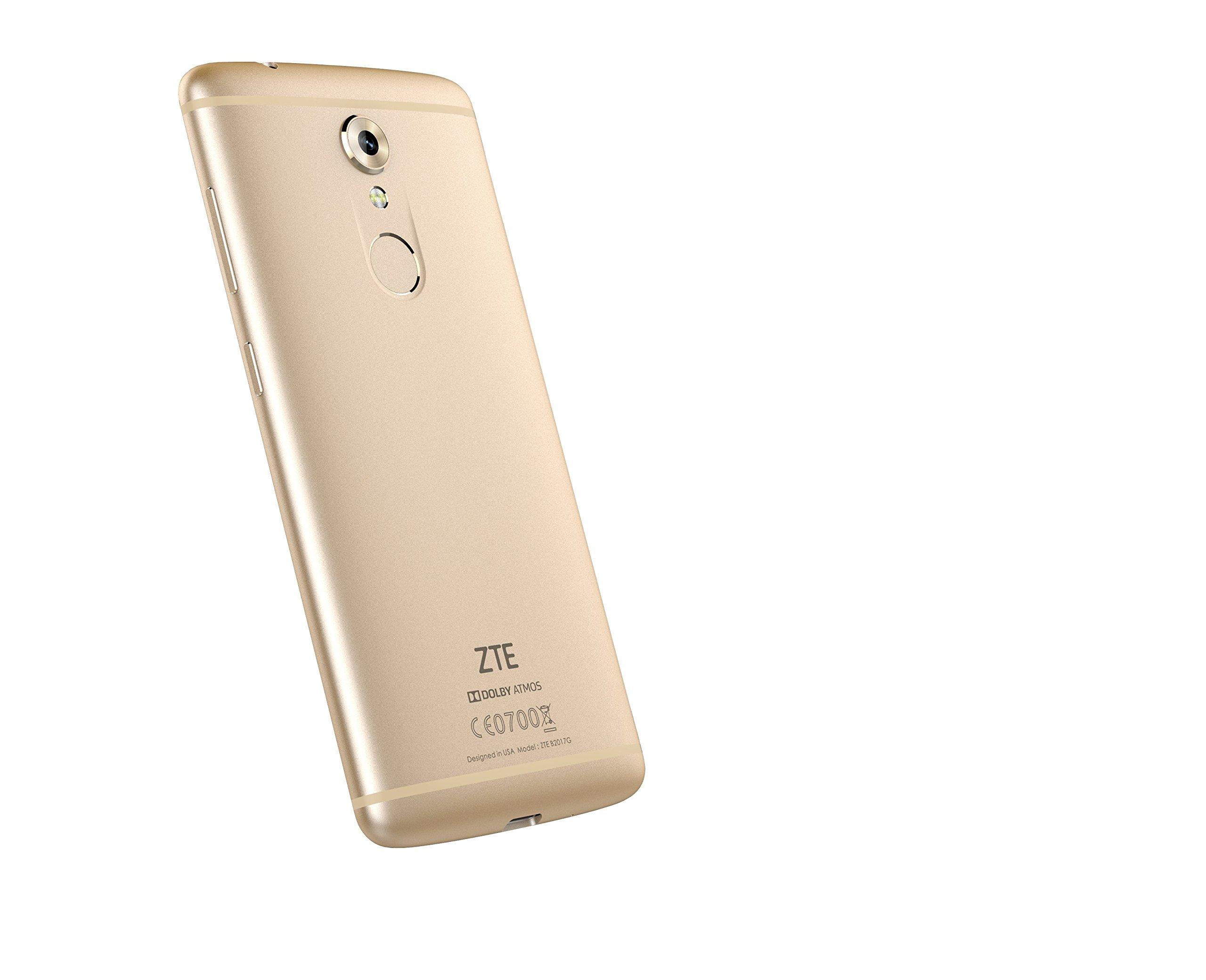 ZTE Deutschland ZTE Axon 7 mini DUAL-Sim Smartphone 32GB - gold