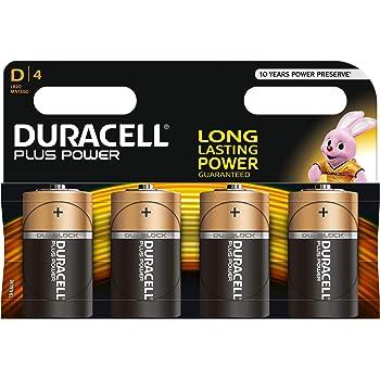 Duracell Plus Power Batterie Alcaline Di Tipo D Confezione Da 6