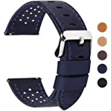 Fullmosa 5 Colori per Cinturino di Ricambio, Breeze Cinturino in Pelle per Orologio da Donna e Uomo,Adatto a Orologio Tradizi