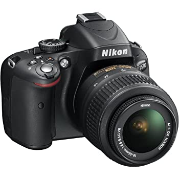 Nikon D5100 SLR-Digitalkamera (16 Megapixel, 7.5 cm (3 Zoll) schwenk- und drehbarer Monitor, Live-View, Full-HD-Videofunktion) Kit inkl. AF-S DX 18-55 mm VR (bildstb.)