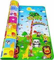 Bambini tappeto gioco educativo, Kids striscianti educativo doppio lato tappeto soffice schiuma centro attività coperta da picnic regalo di compleanno del bambino (3dimensioni per la scelta)