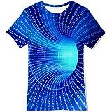 AIDEAONE Camisetas de Verano para niños de 6 a 14 años