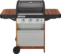 Campingaz 3 Series Woody L, Barbecue Grill con Carrello in Legno, Multicolore