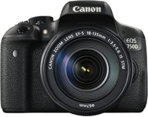Canon EOS 750D with 18-135mm is STM Lens