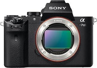Sony Alpha 7M2 E-Mount Vollformat Digitalkamera ILCE-7M2 (24,3 Megapixel, 7,6cm (3 Zoll) LCD Display, Full HD Video (XAVC S, AVCHD), Vollformat Exmor CMOS Sensor, nur Gehäuse) schwarz