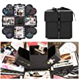 EKKONG Esplosione Box Scrapbook Creative DIY Photo Album - Album Fotografico Fai da Te Album Fotografico Creativo per Il Rega