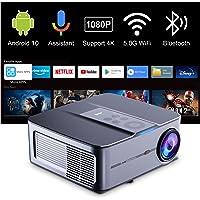 Videoprojecteur Full HD Android 10,Artlii Play 3,Retroprojecteur 4K,120% NTSC, Google Assistant, Correction ±45° 4D…
