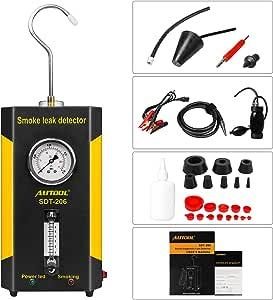 Beley Autool Sdt 206 Automotive Evap Lecks Testgerät 12 V Fahrzeugleitungen Kraftstoffleck Detektor Diagnose Tester Für Auto Motorräder Boot Auto