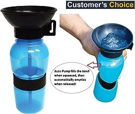 orange creations Outdoor Portable Dog Water Bottle, 500ml (SM129391)