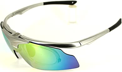 AD Sports UV Protected Samurai Goggles with REVO Lenses and AR Coating