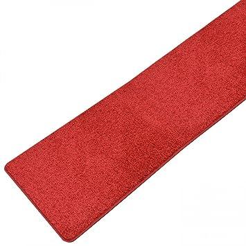 Teppich Läufer Plano Rot / 100 % Polypropylen / in vielen ...
