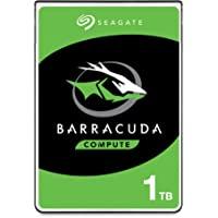Seagate 1 TB BarraCuda 2.5 Inch Internal Hard Drive (5400 RPM, 128 MB Cache, SATA 6 Gb/s, Up to 140 MB/s, Model - ST1000LMZ48)