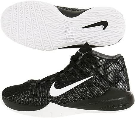 Nike BlackWhite, Chaussures spécial Basket Ball pour garçon