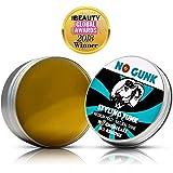 NO GUNK 100% Natürliche Haarwachs/Haarpomade für Haare & Bart - Mittlerer Halt - Nur mit natürlichen und bio Inhaltsstoffen - Gewinner für Bestes Haarprodukt für Männer 2018 (Original, 50g)