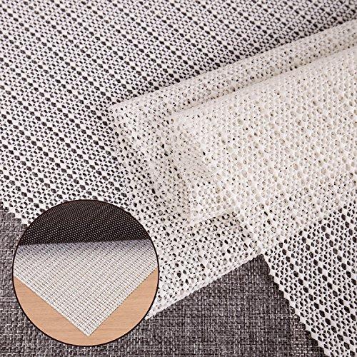Antirutschmatte - Teppichunterlage Teppichstopper Rutschschutz Teppichunterleger für Teppich Teppich Antirutsch Rutsch Stop (150mm x 50mm)