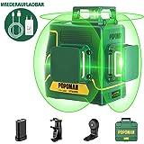 Bosch Professional Linienlaser GLL 2-15 G gr/üner Laser, Halterung LB 10, sichtbarer Arbeitsbereich: bis 15 m, 4x AA-Batterie, in Kartonschachtel
